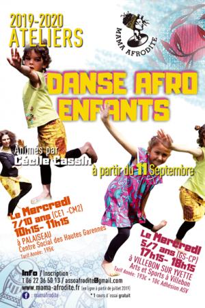 Ateliers de Danse Afro pour Enfants 2019-2020