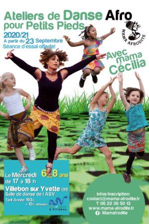 Ateliers Danse Afro Enfants 2020-2021