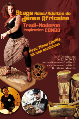 Prochains Stages de danse africaine 2019